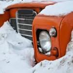snow stuck