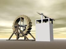 http://www.dreamstime.com/stock-images-tread-wheel-machine-gun-l-da-vinci-d-render-crossbow-designed-leonardo-image35628044