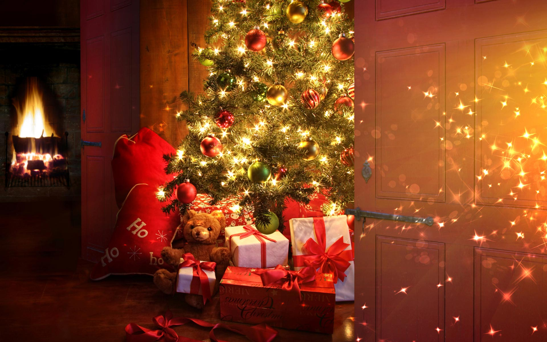 Christmas-Magic-Light-Gifts-HD-Wallpapers
